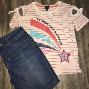 Rainbow Design 2 pc Outfit